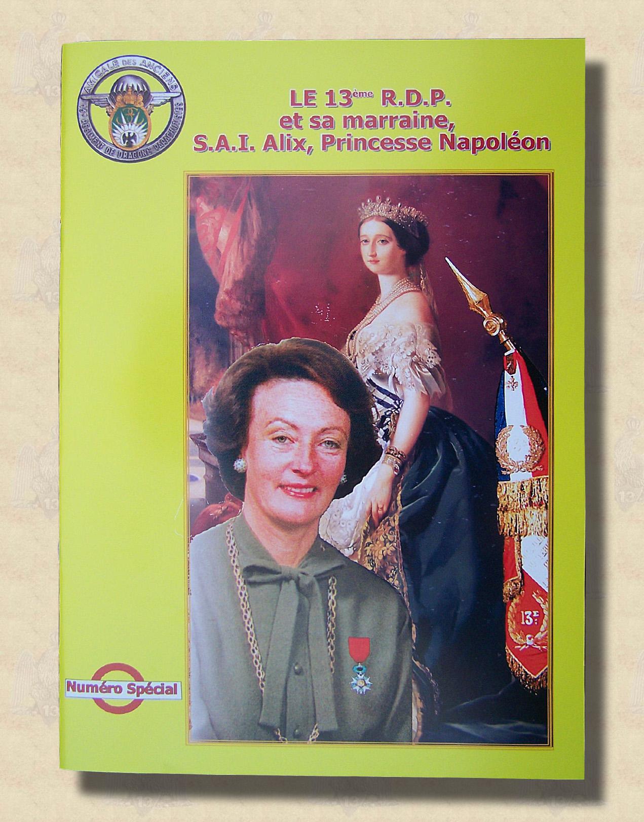 Histoire du 13°RDP et sa Marraine (numéro spécial)