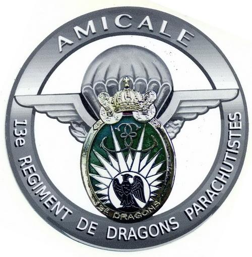 Autocollant Amicale 5cm