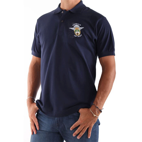 Polo navy Amicale taille L