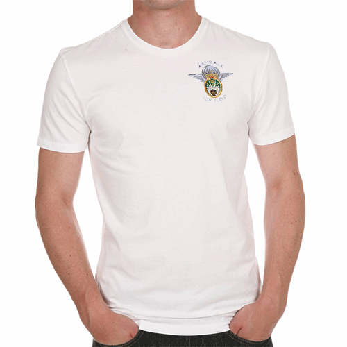 Tee-shirt blanc Amicale ( taille M)