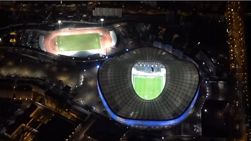 Cinq chuteurs 13 RDP stade Vélodrome Marseille - 28 janvier 2018