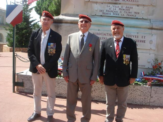 Colonel Hugues Gross - Officier Légion Honneur - Arles